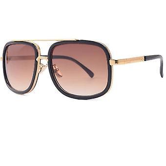 Unisex Klassisk Overdimensjonert Luksus Eyewear Solbriller