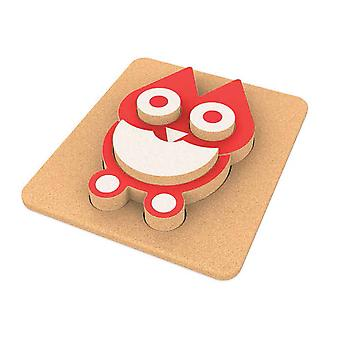 Elou 3D Owl Puzzle Board Toy