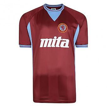Aston Villa 1984 Retro Football Shirt - Claret