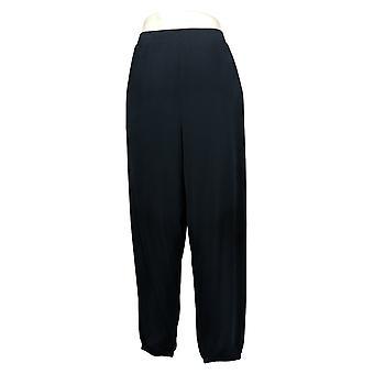 Nogen kvinders bukser strik beskåret Joggers Basic Blue