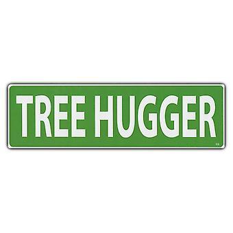 """מדבקה, מדבקת פגוש, מחבק עצים, 10"""" X 3"""""""