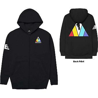 Imagine Dragons - Triangle Men's XX-Large Zipped Hoodie - Black