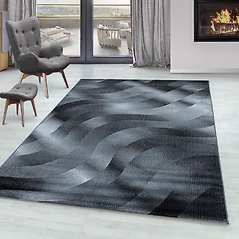 Tappeto del soggiorno RICA Short Pile Soft Carpet Waves Design