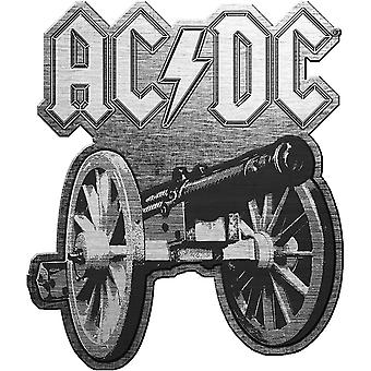 AC/DC - For Those About To Rock Pin Badge