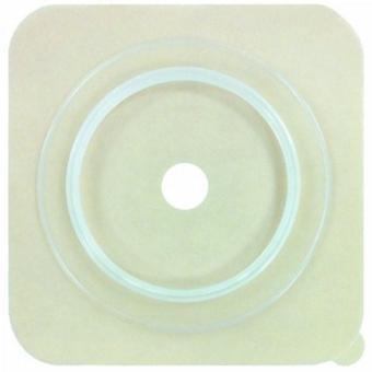 Genairex قطع الفغر ويفر Securi-T تقليم لتناسب، ارتداء القياسية 1-3/4 بوصة 2 قطعة هيدروكولويد تصل إلى 1-1/4 بوصة 4، أبيض 10 العد