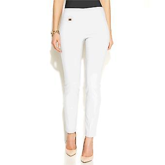 Alfani Mujer-Control Pull-On Pantalones Flacos, Regulares, Longitudes Cortas y Largas