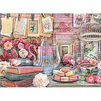 Ravensburger Vintage Tea Party Jigsaw Puzzle (500 Pieces)