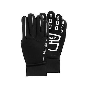 HUUB Neoprene Swimming Swim Gloves Black
