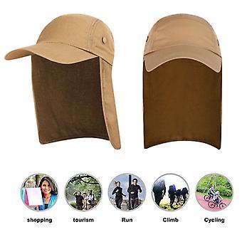 Unisex Angelmütze Sonnenblende Mütze Outdoor UPF 50 Sonnenschutz