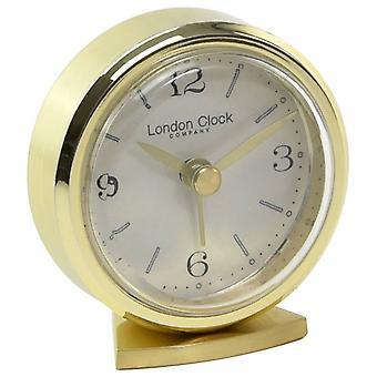 London Clock Company Small Russian Alarm Clock - Gold
