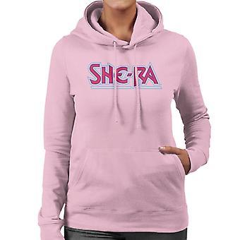 She-Ra Red Logo Women's Hooded Sweatshirt
