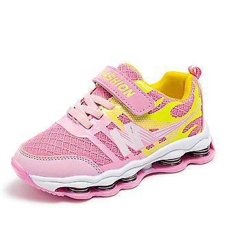 Zapatos para niños Zapatos transpirables Antideslizantes Deportes para niños Frh819 Azul