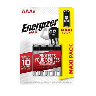 Batteries Energizer Max LR03 AAA (8 pcs)