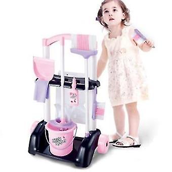 Hrát domácí děti úklid čištění pračka mini vyčistit hrát hračku