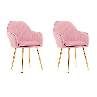 Lange vrije tijd moderne woonkamer accent arm stoelen club gastenset van 2