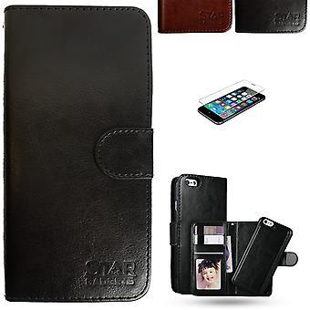 Iphone 7/8/se (2020) - Boîtier en cuir / Protection
