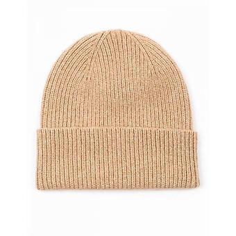 Colorful Standard Merino Wool Beanie Hat - Desert Khaki