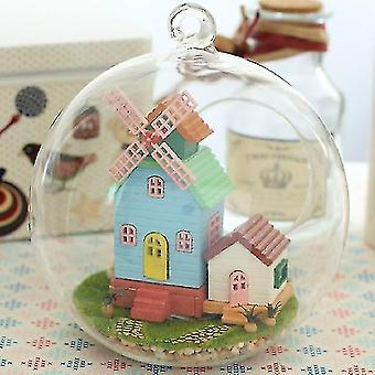 Dollhouse accessories cutebee doll house miniature diy dollhouse with furnitures wooden house for children birthday christmas gift