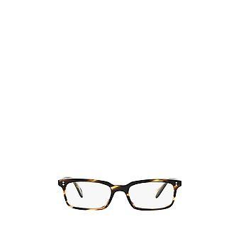 Eyeglasses oliver peoples ov5102 cocobolo male eyeglasses 49 brown