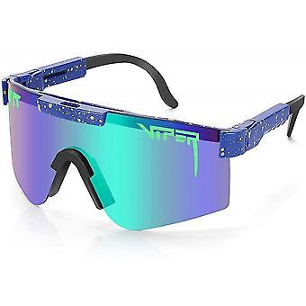 Pit Viper Uv400 Outdoor Movement Cyklistický beh polarizovaných slnečných okuliarov pre mužov