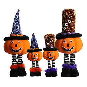 Halloween gresskar figurine dekorasjon vindu dekorasjon