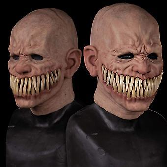 Froepy Stalker Herren Maske Große Zähne Lächeln Jahre Halloween Kostüm Party Requisiten