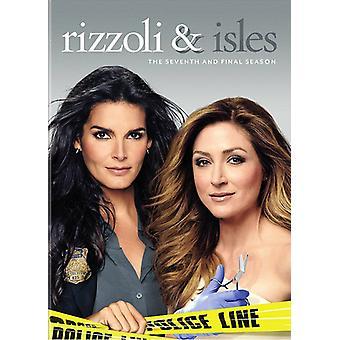 Rizzoli & Isles: Completare settimo & finale Ssn S7 importazione USA [DVD]