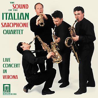 Sound of the Italian Saxophone Quartet - The Sound of the Italian Saxophone Quartet [CD] USA import