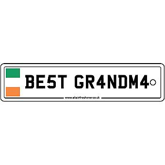 Irland - bedste bedstemor licens plade bil luftfriskere