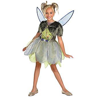 Tinker Bell Costume Deluxe Tinkerbell Fairy Fairies Disney libro settimana ragazze