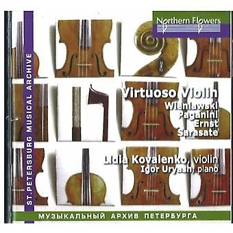 Kovalenko / Uryash - Virtuoso Pieces for Violin by 19th Century [CD] USA import