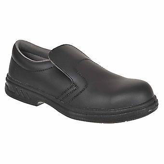 sUw Mens Steelite Slip On Workwear Safety Shoe S2