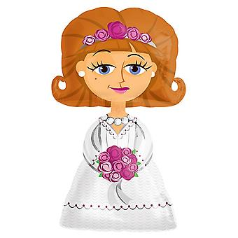 Amscan Airwalkers Bride Design Wedding Balloon