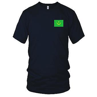 Drapeau National du pays de Mauritanie - Logo - brodé 100 % coton T-Shirt Kids T Shirt