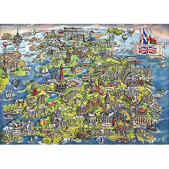 Gibsons belle Grande-Bretagne Jigsaw Puzzle (1000 pièces)