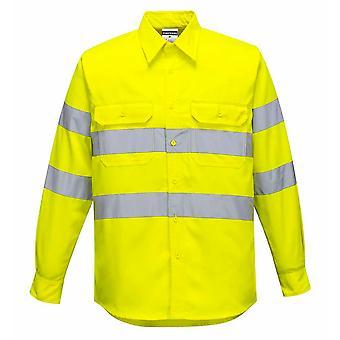 sUw - Hi-Vis bezpieczeństwa Odzież robocza koszula długi rękaw