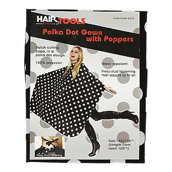 Hairtools Polka Dot kjole med Poppers
