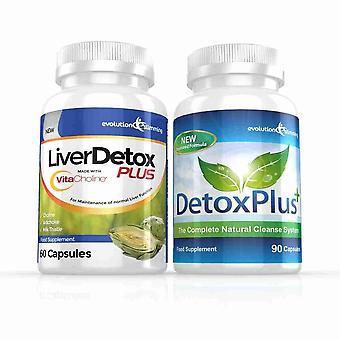 Maksan Detox Plus kapselit ja DetoxPlus Combo - 1 kuukausi tarjonta - maksan ja kaksoispiste puhdistaa - kehitys laihtumiseen
