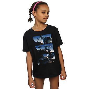 Star Wars Girls Rogue One K-2SO Comic Strip T-Shirt