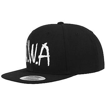 Merchcode Snapback Cap - N.W.A. Black