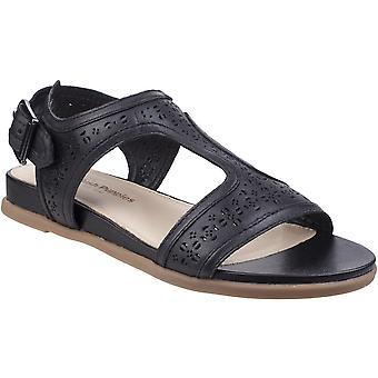 Hush Puppies Womens/Ladies Dalmatians T Strap Leather Summer Sandals