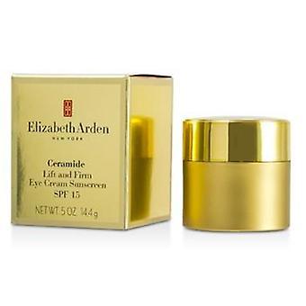 Elizabeth Arden Ceramide Lift And Firm Eye Cream Sunscreen Spf 15 - 14.4g/0.5oz