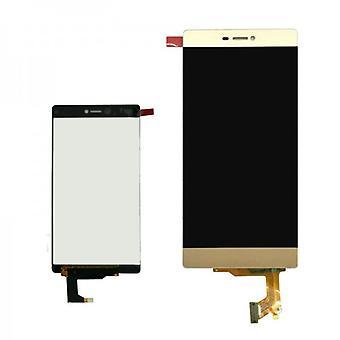 Display LCD complet Unit pentru Huawei Ascend P8 aur