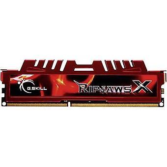 Kit de RAM PC G.Skill RipjawsX F3-12800CL10D-16GBXL 16 Go 2 x 8 Go DDR3 RAM 1600 MHz CL10 10/10/30
