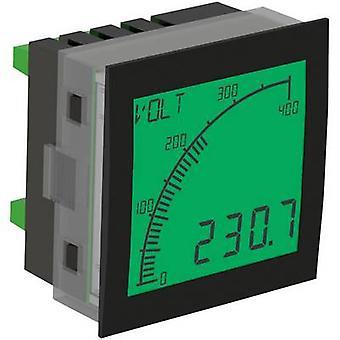 Digital rackmontert meter Trumeter APM-PROC-APO The APM prosessen måleutstyr, positiv-LCD montering dimensjoner 68 x 68 mm