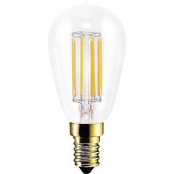 Segula LED (monochrome) EEC A+ (A++ - E) E14 Rod 4.7 W = 35 W Warm white (Ø x L) 45 mm x 100 mm Filament, dimmable 1 pc(s)