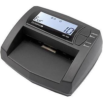 Olympia NC 335 vals geld detector, Cash item