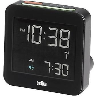Braun 66018 Radio Alarm clock Black Alarm times 1