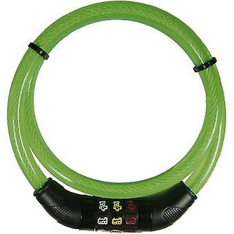 Security Plus CSL80grün stalen kabelslot groene symbool combinatieslot