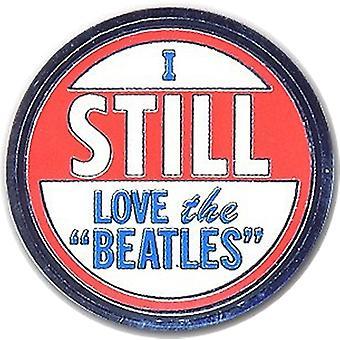 Rakastan yhä Beatles metalli / emali Pin-tunnus